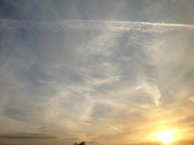 Chorlton sky