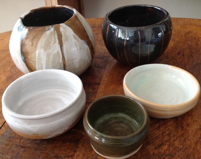 Beginners' pots