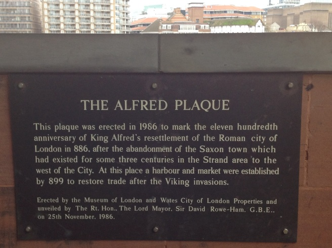Alfred plaque